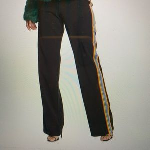NWT Lovers & Friends Sandi Side Stripe Track Pants